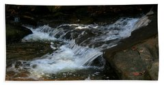 Rushing Water Beach Towel