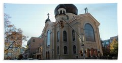 Russian Orthodox Cathedral Of The Transfiguration Of Our Lord Beach Towel