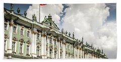 Russian Winter Palace Beach Towel