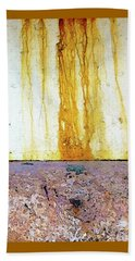Rust Beach Towel by Anne Kotan