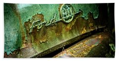 Rusted Ford Beach Towel
