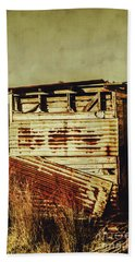 Rustic Abandonment Beach Towel