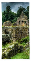 Rustic Abbey Remains Beach Towel