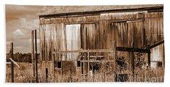 Rustic Barn Beach Sheet
