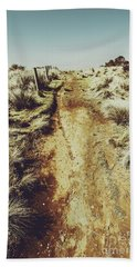 Rustic Country Trails Beach Towel
