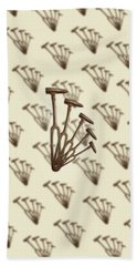 Beach Towel featuring the photograph Rustic Hammer Pattern by YoPedro