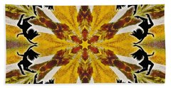 Beach Towel featuring the digital art Rustic Lifespring by Derek Gedney