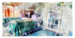 Rustic Look Bedroom Beach Towel