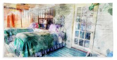 Rustic Look Bedroom Beach Sheet