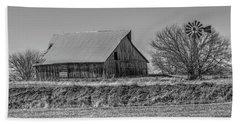Rustic Rural Iowa Beach Sheet