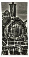 Rusting Locomotive Beach Sheet