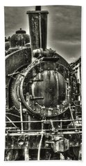 Rusting Locomotive Beach Towel