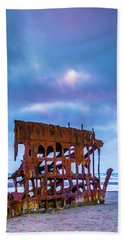 Rusting Peter Iredale Beach Towel