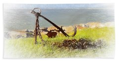 Rusty Anchor Beach Towel