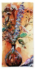 Rusty Arrangement Beach Towel