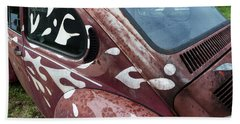 Rusty Bug 1 Beach Towel by Carolina Liechtenstein