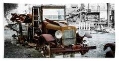 Rusty International Truck Beach Sheet