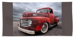 Rusty Jewel - 1948 Ford Beach Sheet