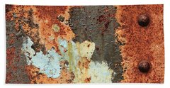 Rusty Layers Beach Towel