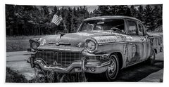 Rusty Old Studebaker Beach Sheet
