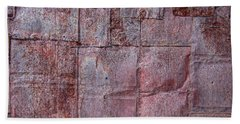 Rusty Patchwork Beach Towel
