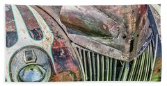 Rusty Road Warrior Beach Towel