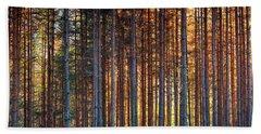 Rusy Forest Beach Sheet