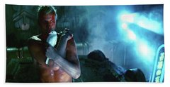 Rutger Hauer Number 2 Blade Runner Publicity Photo 1982 Color Added 2016 Beach Towel