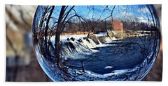 Rutland Dam Two Beach Towel