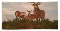Rutting Season Beach Towel
