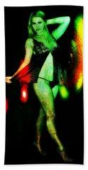 Beach Towel featuring the digital art Ryan 2 by Mark Baranowski