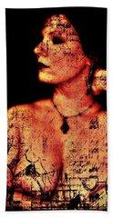 Beach Towel featuring the digital art Ryli 2 by Mark Baranowski