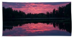 Sabao Sunset 01 Beach Towel