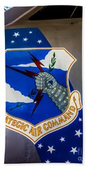 Strategic Air Command Beach Towel