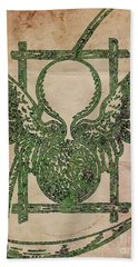 Sacred And Ancient Symbolism By Pb Beach Towel