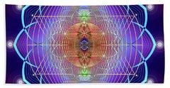 Sacred Geometry 641 Beach Towel