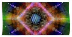 Sacred Geometry 645 Beach Towel