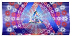 Sacred Geometry 646 Beach Towel