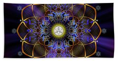 Sacred Geometry 647 Beach Towel