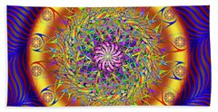Sacred Geometry 649 Beach Towel