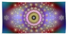Sacred Geometry 650 Beach Towel