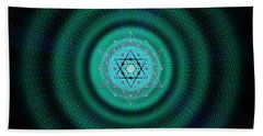 Sacred Geometry 651 Beach Towel