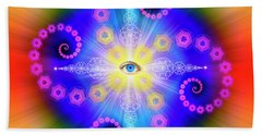 Sacred Geometry 653 Beach Towel