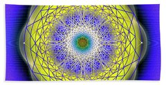 Sacred Geometry 655 Beach Towel