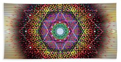 Sacred Geometry 657 Beach Towel