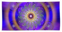 Sacred Geometry 658 Beach Towel