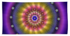 Sacred Geometry 659 Beach Towel