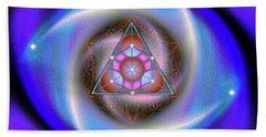 Sacred Geometry 687 Beach Towel
