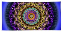 Sacred Geometry 708 Beach Towel