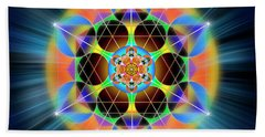 Sacred Geometry 709 Beach Towel